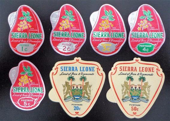 Sierra Leona Flora, Serie Sc. 310-16 Cola 1965 Mint L10306