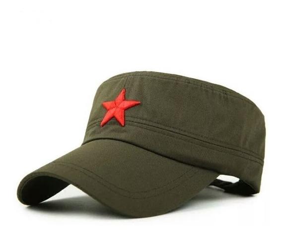 Boné Militar Estrela Vermelha