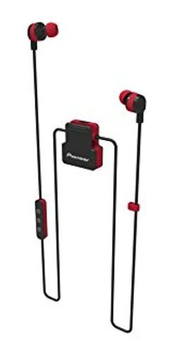 Imagen 1 de 5 de Pioneer Secl5btr Auriculares Inear Inalambricos Rojo