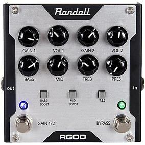 Pedal Randall Rgod - Preamp E Distorção