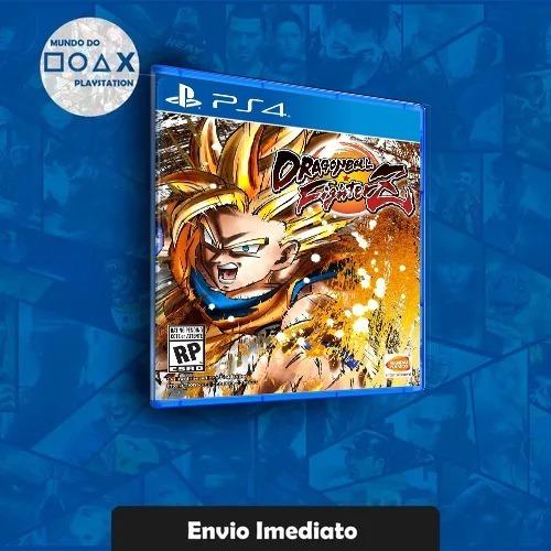 Dragon Ball Fighter Z Ps4 2 Original Envio Imediato