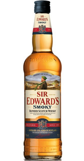 Whisky Sir Edwards Smoky Double Black Escoces Envio Gratis