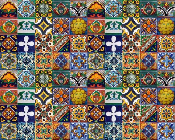 100 Mixto De Azulejos 5x5 Coloniales