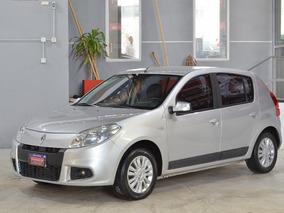 Renault Sandero Luxe 1.6 16v. 2011 Con Gnc 5ptas Color Gris