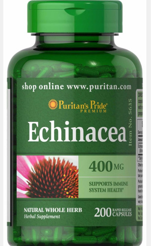 Echinacea Equinacea 400 Mg 200 Cáp - Unidad a $149