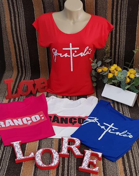 T-shirt Com Frases