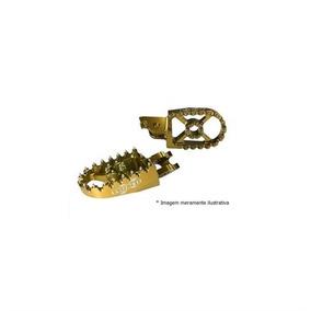 Pedaleira Cross Suz-rmz250 07 Rmz450 05-07 Dourada Moto X
