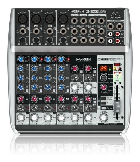 Mesa Som Qx1202 Usb Xenyx Behringer Qx 1202 110v Transformad