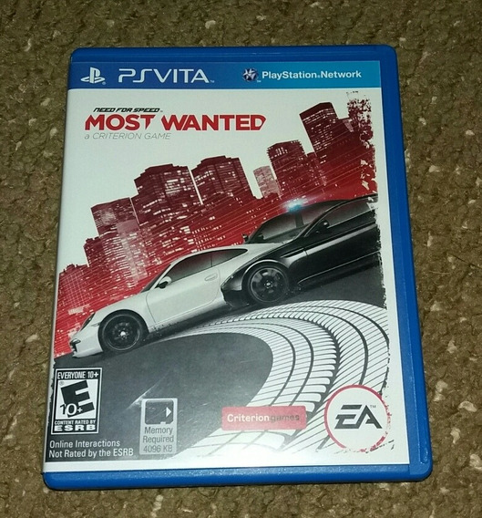 Need For Speed Most Wanted Ps Vita Playstation Vita