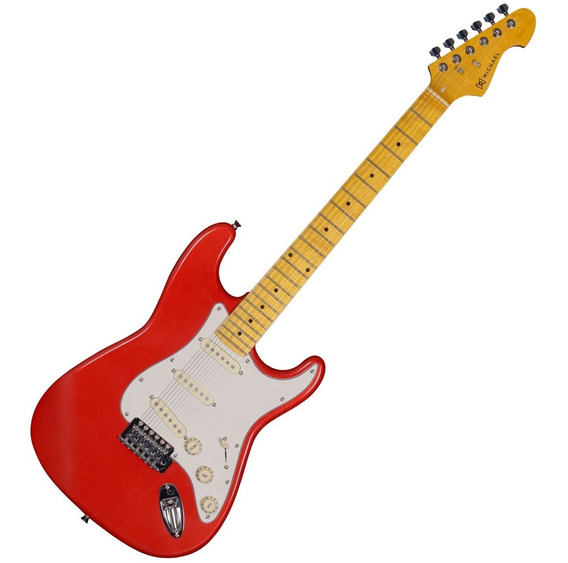 Guitarra Strato 6 Cordas Stonehenge Gm 222 N Mr Michael