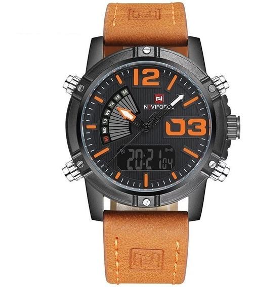 Relógio Naviforce 9095 Laranja
