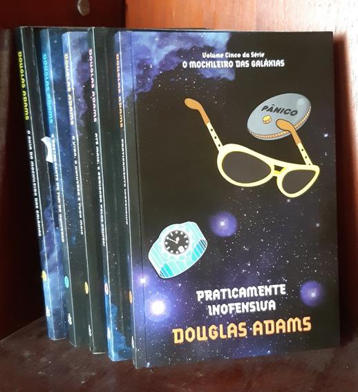 O Guia Do Mochileiro Das Galáxias - 5 Livros