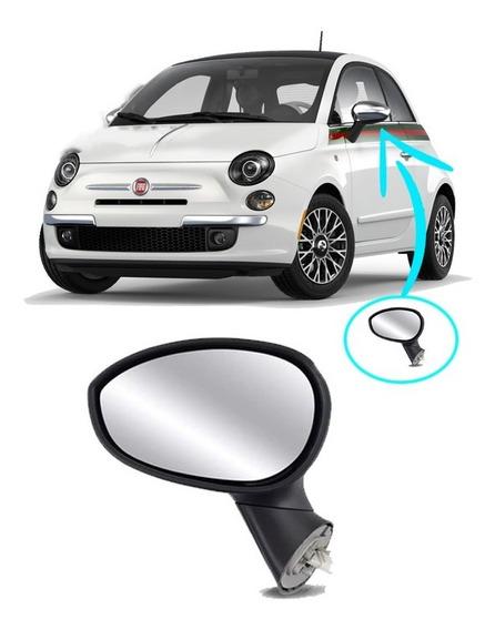 Retrovisor Esquerdo Eletrico Fiat 500 08 2009 2010 2011 2012