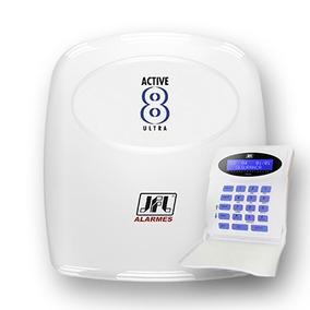 Central De Alarme Jfl Active 8 Ultra Com Teclado Lcd
