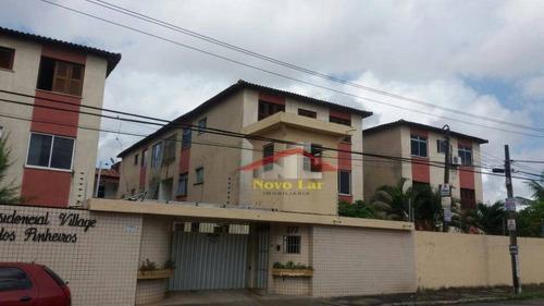 Imagem 1 de 30 de Apartamento Com 2 Dormitórios À Venda, 82 M² Por R$ 170.000,00 - Parangaba - Fortaleza/ce - Ap0483