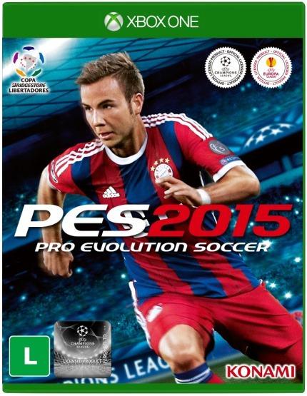 Pes 2015 - Pro Evolution Soccer Xbox One Lacrado Novo