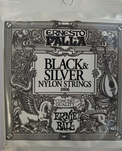 Ernie Ball Guitarra Clásica Encordado Usa Nylon Strings