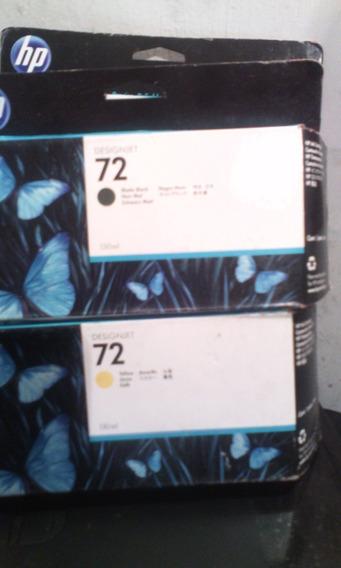 Cartucho De Tinta Hp Original 72 Vencido Oct 2012