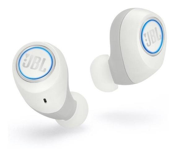 Fone Ouvido Jbl Free X Branco Bluetooth Original Nota Fiscal