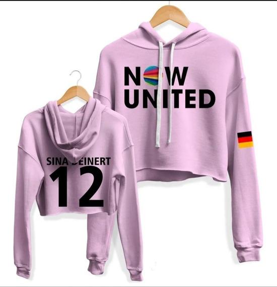 Moletom Cropped Feminino Now United 12 Sina Deinert Alemanha