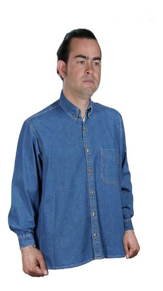 Camisa De Mezclilla 7.5 Onzas Fresca Durable 100% Algodon