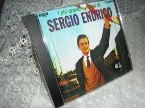 Sergio Endrigo Grandes Sucessos Cd Remaster Música Italiana