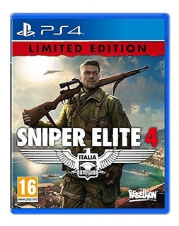 Sniper Elite 4 - Limited Edition (ps4) Uk Import Region Free
