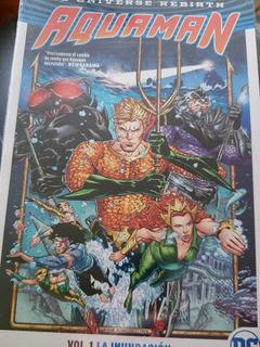 Dc - Aquaman Vol 1 (la Inundacion) Completo