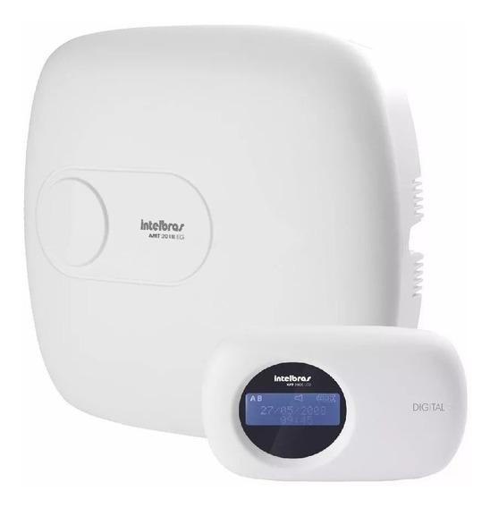 Central De Alarme Monitorada Intelbras Amt 2018eg C/ Bateria