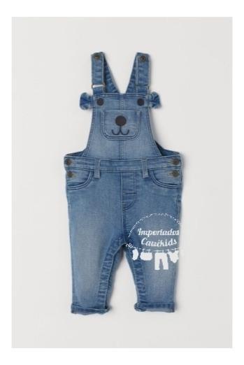 Jardineira Importada Jeans Marca H&m