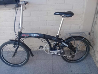 Bicicleta Olmo Plegable Aluminio 7 Vel