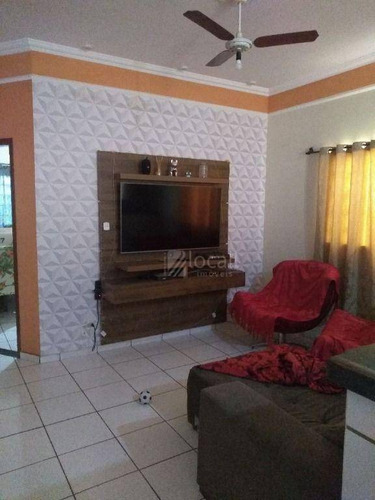Imagem 1 de 22 de Casa Com 3 Dormitórios À Venda, 98 M² Por R$ 330.000,00 - Vila Elmaz - São José Do Rio Preto/sp - Ca2715