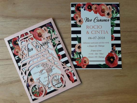 Tarjetas Invitaciones 15 Paris Souvenirs Para Fiesta De 15