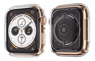 Case Bumper Transparente Apple Watch Iwo 8 E Iwo 9 44mm 42mm Iwatch