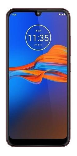 Imagen 1 de 6 de  Moto E6 Plus Special Edition 64 GB rich cranberry 4 GB RAM