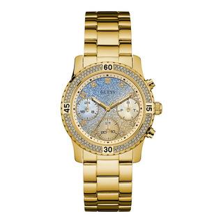Reloj Guess W0774l3 L2 L5 Cristales Dama Agente Oficial