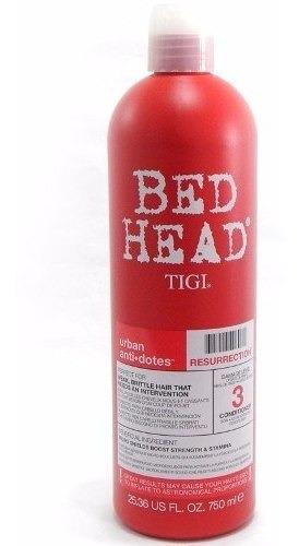 Tigi Bed Head Resurrection X 750 Acondicionador Reparador N3