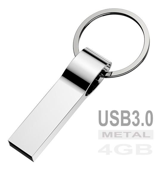 Pen Drive 4gb Usb 3.0 Style Metal Chaveiro E Pendrive