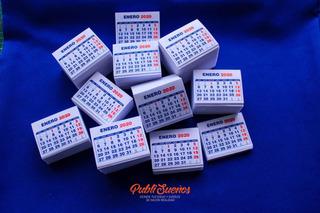 500 / Taco De Mini Calendarios 2020