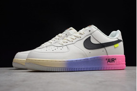 *\zapatos Nike Air Force One Lows White Off/*