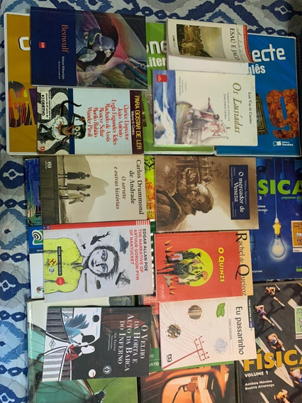 Coleção De Vários Livros Para Ensino Médio, Vestibular...