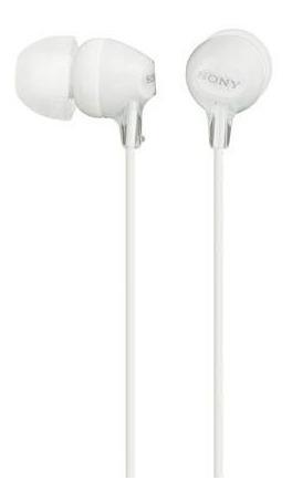 Auriculares In-ear Con Micrófono Sony Mdr-ex15ap - Blanco