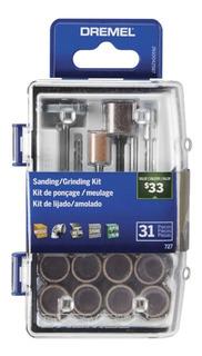 Kit De Accesorios Para Lijar Amolar Dremel Minitor 31 Piezas