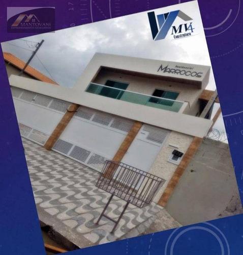 Imagem 1 de 15 de Sobrado Com 2 Dormitórios À Venda, 57 M² Por R$ 240.000,00 - Tupi - Praia Grande/sp - So0205