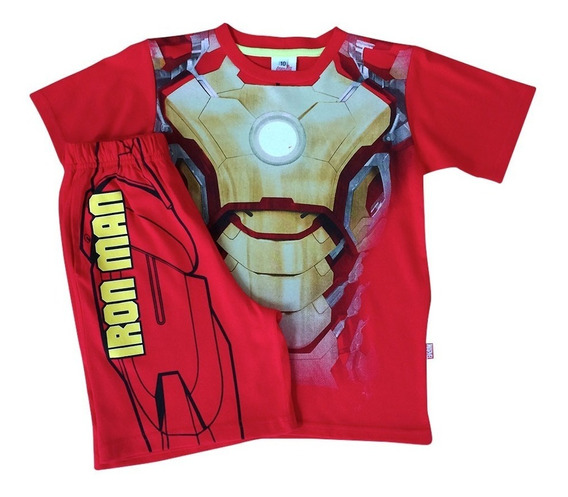 Conjunto Armadura Iron Man De Marvel Official