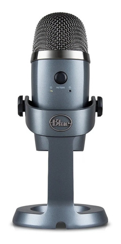 Microfono Blue Yeti Nano Usb Negro