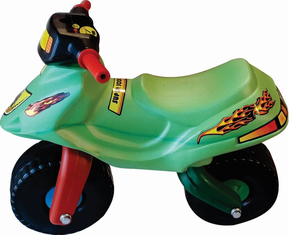 Andarin Moto Infantil Pata Pata Pvc Impacto Tipo Triciclo