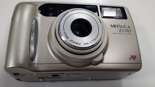Maquina Fotografica Mitsuca Z115d De Filme Modelo Antigo