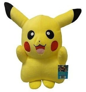 Pelúcia Turma Pokémon Pikachu (30cm) - Importada