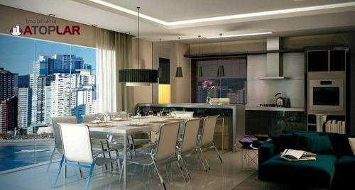 Apartamento Com 3 Suítes À Venda, 133 M² Por R$ 2.360.000 - Pioneiros - Balneário Camboriú/sc - Ap1418